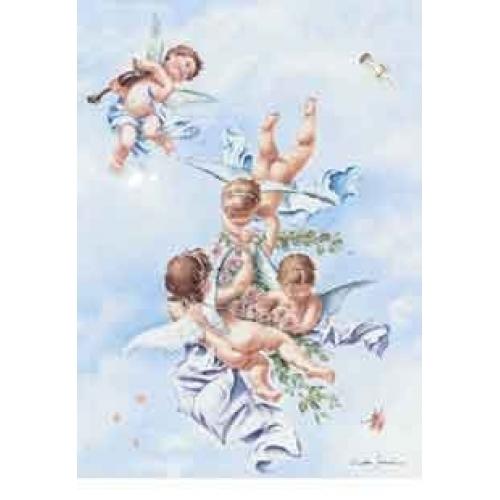 Angeli con violino - Immagini violino a colori ...