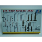 Modellino scala 1/72 usa/nato aircraft arms