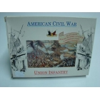 modellino scala 1/72 american civil war union infantri